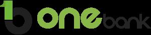 One 1 Bank - logo preta